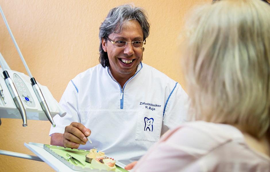 Beratung - Muja Dental - Zahnarzt Kübbeler Freden